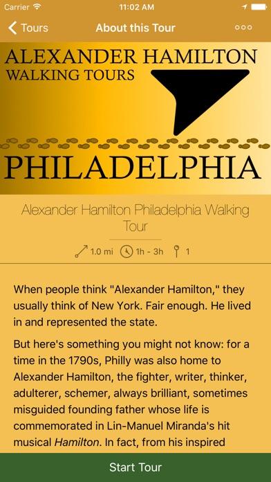 Alexander Hamilton Walking Tours - My Tours